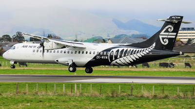 ZK-MVM - ATR 72-212A(600) - Air New Zealand