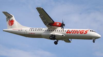 PK-WFJ - ATR 72-212A(500) - Wings Air