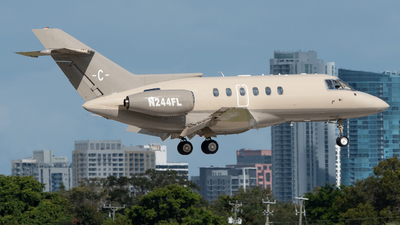 N244FL - British Aerospace BAe 125-800A - Private