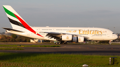 A picture of A6EUS - Airbus A380842 - Emirates - © Leon Aviation