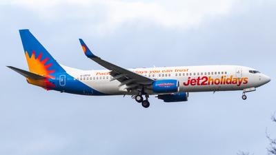 A picture of GDRTD - Boeing 737808 - Jet2 - © RJL