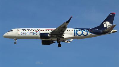 XA-GAW - Embraer 190-100LR - Aeroméxico Connect