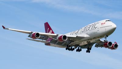G-VXLG - Boeing 747-41R - Virgin Atlantic Airways