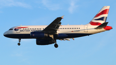 A picture of GEUPP - Airbus A319131 - British Airways - © Ferenc Kolos