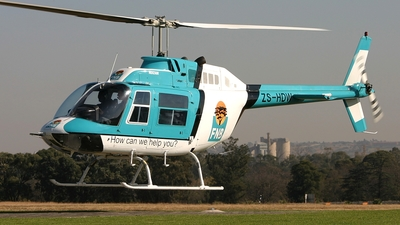 ZS-HDW - Bell 206B JetRanger - Private