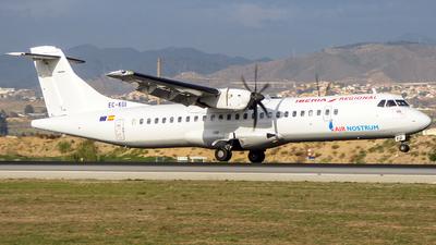 EC-KGI - ATR 72-212A(500) - Air Nostrum