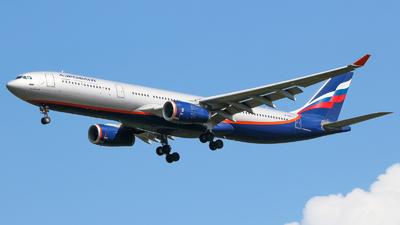 VP-BDD - Airbus A330-343 - Aeroflot