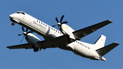HB-IZS - Saab 2000 - Sky Work Airlines