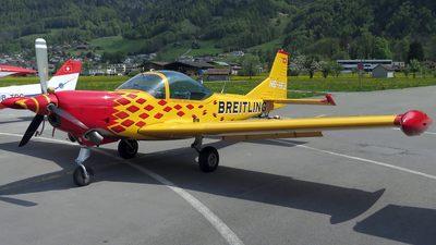 A picture of HBHFJ - FFA AS202/32TP Turbo Bravo - [243] - © Mirko Bleuer