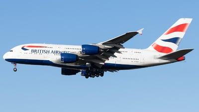 G-XLEA - Airbus A380-841 - British Airways