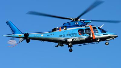 JA14KP - Agusta A109SP Da Vinci - Japan - Police
