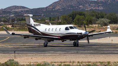 A picture of N289PB - Pilatus PC12/45 - [289] - © David Lee