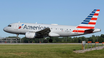 A picture of N753US - Airbus A319112 - American Airlines - © DJ Reed - OPShots Photo Team