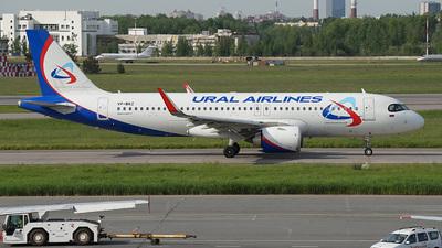 A picture of VPBRZ - Airbus A320251N - Ural Airlines - ©  koba emukhvari