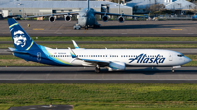 A picture of N298AK - Boeing 737990(ER) - Alaska Airlines - © Nick Sheeder