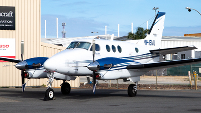 VH-EMJ - Beechcraft C90 King Air - Goldfields Air Service