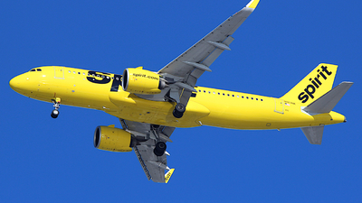A picture of N913NK - Airbus A320271N - Spirit Airlines - © Jamie West
