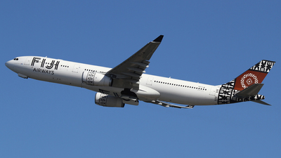 A picture of DQFJW - Airbus A330343 - Fiji Airways - © Mohit Purswani - AHKGAP