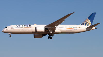 N15969 - Boeing 787-9 Dreamliner - United Airlines