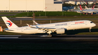 F-WZNU - Airbus A350-941 - China Eastern Airlines