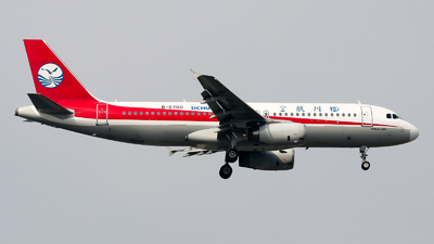 B-6700 - Airbus A320-232 - Sichuan Airlines