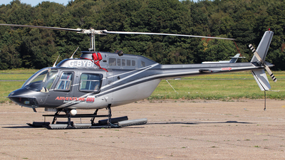 G-BYBI - Bell 206B JetRanger III - Private