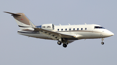 HB-JRG - Bombardier CL-600-2B16 Challenger 604 - Private