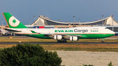 B-16406 - Boeing 747-45E(BDSF) - Eva Air Cargo