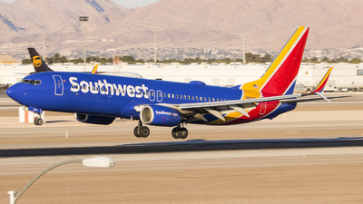 A picture of N8604K - Boeing 7378H4 - Southwest Airlines - © David Lee
