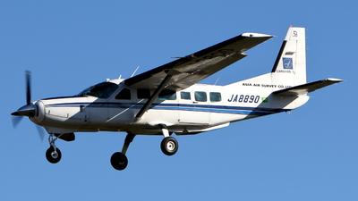 A picture of JA8890 - Cessna 208 Caravan I - [20800195] - © kouyagi