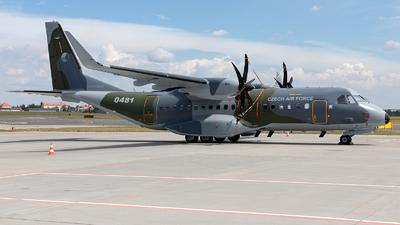0481 - Airbus C295W - Czech Republic - Air Force