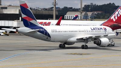 A picture of PRMHU - Airbus A320214 - LATAM Airlines - © Rafael Ferreira