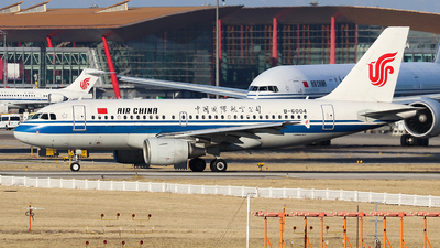 A picture of B6004 - Airbus A319115 - Air China - © Jerry.H