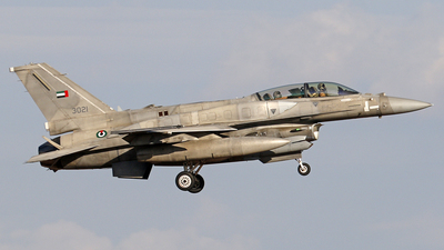 3021 - Lockheed Martin F-16F Desert Falcon - United Arab Emirates - Air Force