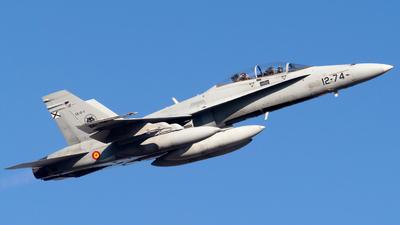 CE.15-11 - McDonnell Douglas EF-18BM Hornet - Spain - Air Force