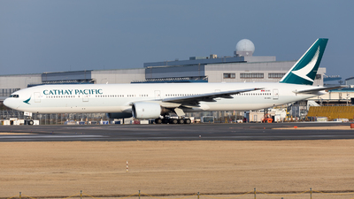 B-HNU - Boeing 777-31H - Cathay Pacific Airways