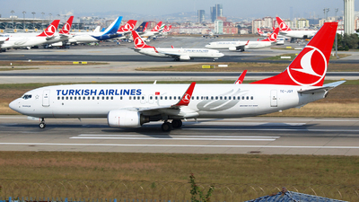 TC-JGY - Boeing 737-8F2 - Turkish Airlines