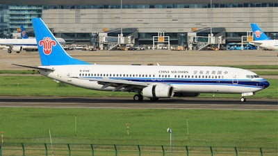 A picture of B5149 - Boeing 73781B - China Southern Airlines - © RuiQi Liang