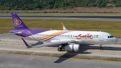 A picture of HSTXU - Airbus A320232 - Thai Smile - © Alexander Listopad