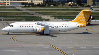 SE-DSP - British Aerospace Avro RJ100 - Malmö Aviation