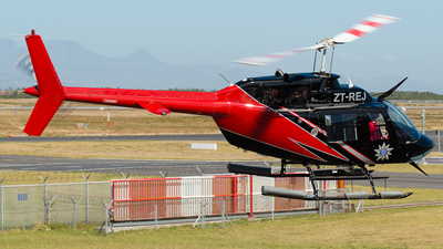 ZT-REJ - Bell 206B JetRanger III - Private