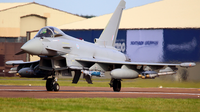 ZK356 - Eurofighter Typhoon FGR.4 - United Kingdom - Royal Air Force (RAF)