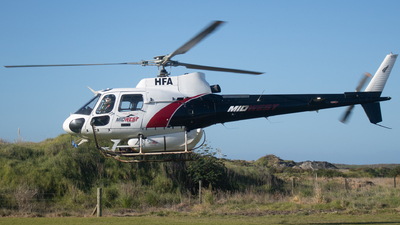 ZK-HFA - Eurocopter AS 350B2 Ecureuil - Mid West Helicopters
