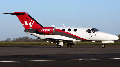 G-FBKH - Cessna 510 Citation Mustang - Wijet