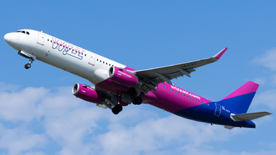 A picture of HALXJ - Airbus A321231 - Wizz Air - © Alexander Jeglitsch