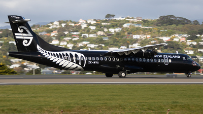 A picture of ZKMVA - ATR 72600 - Air New Zealand - © Reuben Morison