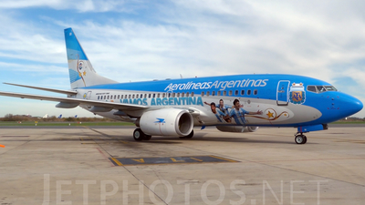 LV-CSI - Boeing 737-7Q8 - Aerolíneas Argentinas