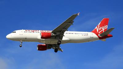 N625VA - Airbus A320-214 - Virgin America