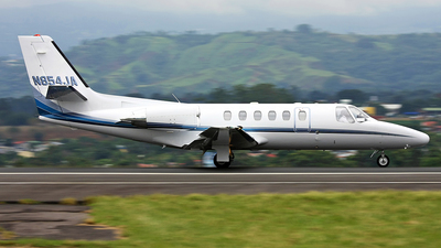N854JA - Cessna 550 Citation II - Private