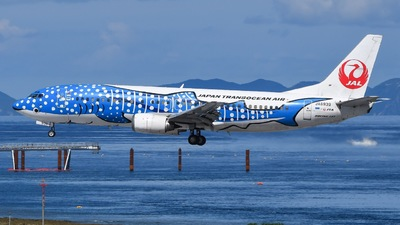 JA8939 - Boeing 737-4Q3 - Japan TransOcean Air (JTA)